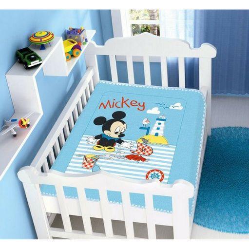 Cobertor Mickey - Azul
