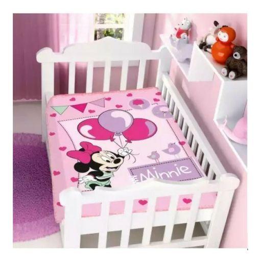 Cobertor Minnie - Rosa
