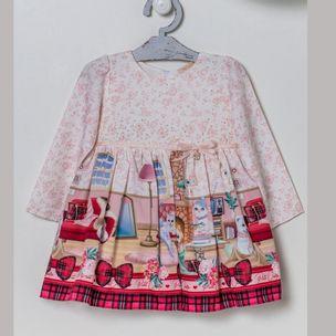 Vestido-de-bebe-Petit-Cherie-sala-animais-barra-xadrez-PMG-3031031641074