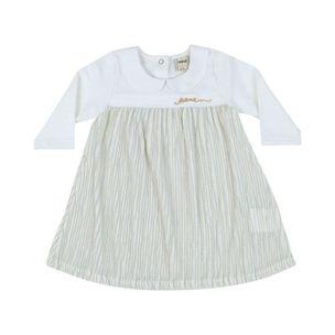 Vestido-de-bebe-Anime-off-white-gola-canelado-PaGG-L1190-