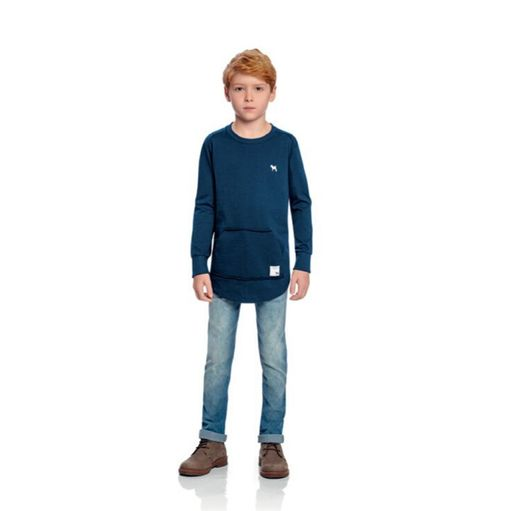 Camiseta-infantil-Charpey-mescla-bordada-cachorro-4a8-20360