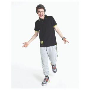 Camiseta-infantil-Nuv.on-polo-preta-gola-neon-12a18-60360