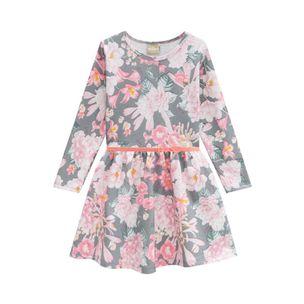 Vestido-infantil-Milon-florido-cinto-coracao-1a3-12151-