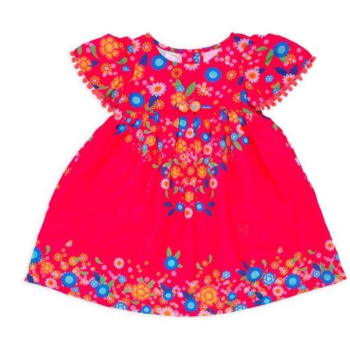 Vestido-infantil-Alphabeto-flores-mangas-pompons-2a6-51719