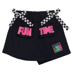Shorts-Saia-infantil-Anime-Fun-Time-Lacos-Xadrez-8a16-N0866-