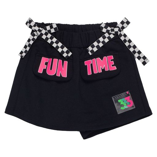 Shorts-Saia-infantil-Anime-Fun-Time-Lacos-Xadrez-8a16-N0866-