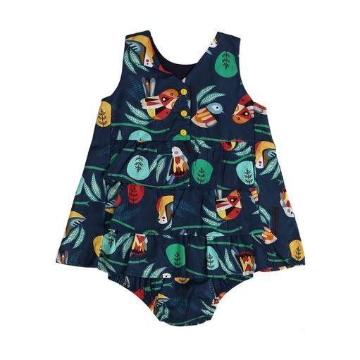 Vestido-de-bebe-Precoce-passaros-com-calcinha-MaGG-MVT2211