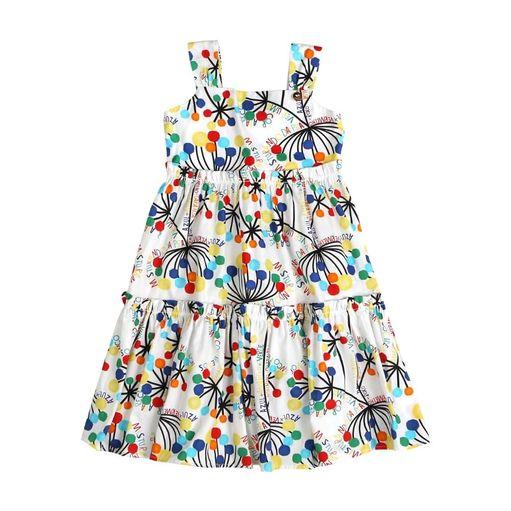 Vestido-infantil-Precoce-bolinhas-coloridas-frases-2a4-MVT2231