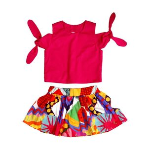 Conjunto-infantil-Precoce-pink-manga-laco-saia-colorida-4a8-MCJ2373