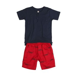 Conjunto-infantil-Precoce-bermuda-jacare-bolso-blusa-2a4-MCJ2351