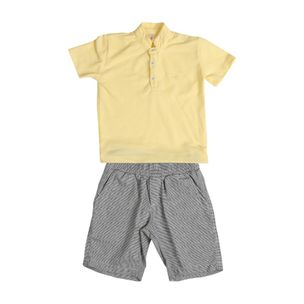 Conjunto-de-bebe-Precoce-bermuda-listrada-polo-botoes-2a4-BCJ2349