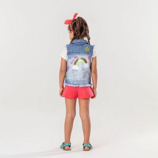 Colete-infantil-Mon-Sucre-jeans-flower-arco-iris-2a12-51134417000-