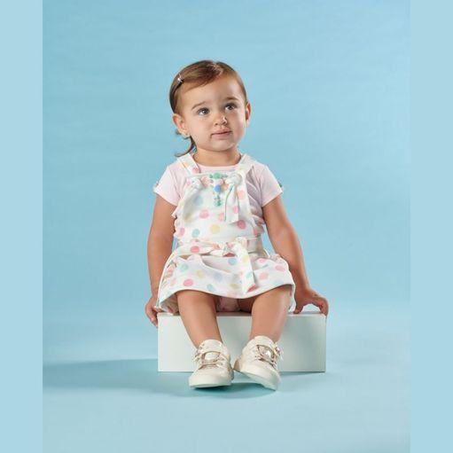 Vestido-de-bebe-Kiki-Xodo-salopete-bolinhas-coloridas-PaG-1642