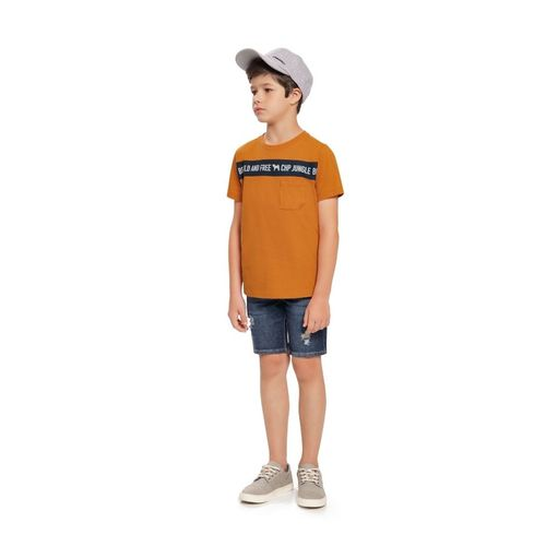 Camiseta-infantil-Charpey-be-wild-and-free-10a16-21746C