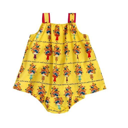 Vestido-de-bebe-Precoce-vejo-flores-em-voce-com-calcinha-MaGG-BVT2203