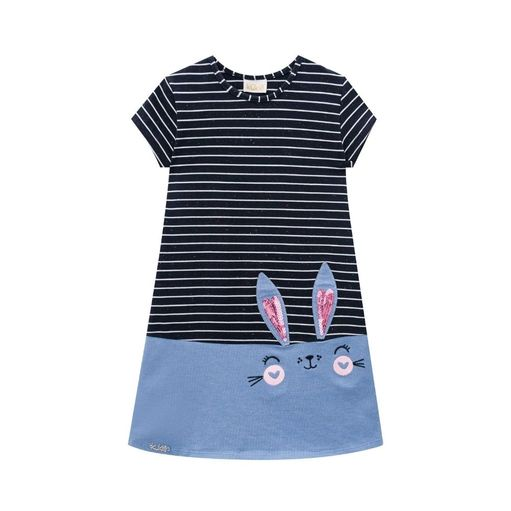 Vestido-infantil-Kukie-listra-coelinho-1a4-42145-