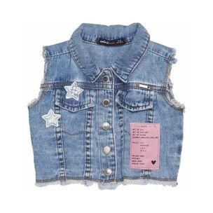Colete-de-bebe-Anime-jeans-bolso-estrelas-MaGG-L1340