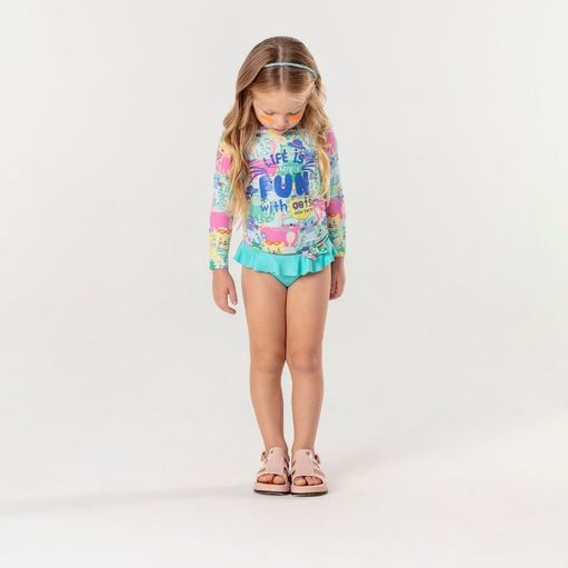Biquini-infantil-Mon-Sucre-camiseta-life-is-fun-cats-1a12-51135017052
