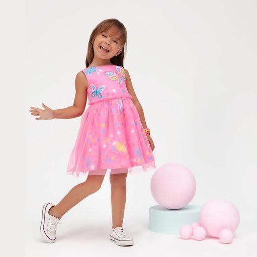 Vestido-infantil-Malagah-regata-borboleta-tule-1a4-105.0248VT-