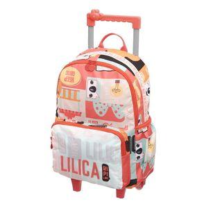 Mochila-escolar-com-rodinhas-Lilica-Ripilica-coral-971N01