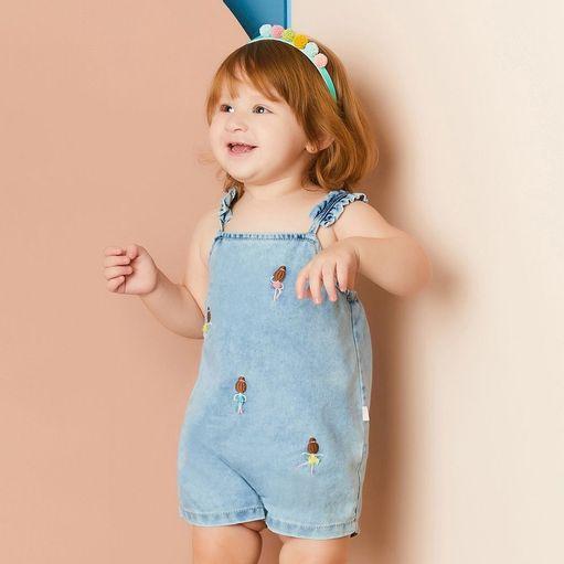 Macacao-de-bebe-Alphabeto-jeans-bordado-bailarina-PaG-52732-