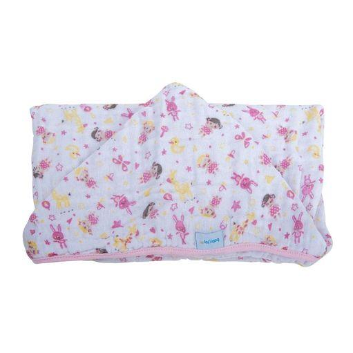 Toalha-fralda-Baby-Joy-soft-boneca-com-capuz-4083303010022